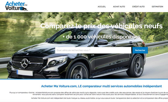Acheter ma Voiture [site responsive]