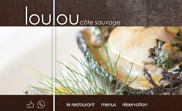 Loulou Côte Sauvage [site responsive]